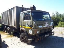 КамАЗ. Камаз-53210 контейнер фургон, 6x4