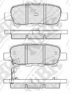 Колодки тормозные дисковые NIBK PN2466 PN2466