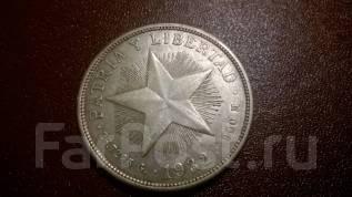 Куба 1 песо 1932 г. Серебро. Оригинал. Редкость