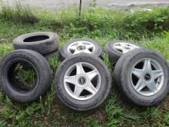 "Продам колёса, авторезину. 6.5x15"" 4x114.30, 5x114.30 ET32"