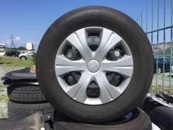 Комплект шин на штамповке Bridgestone 185 70 R14 Летние Japan