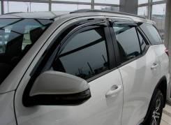 Ветровик на дверь. Toyota Fortuner, GUN166, TRN166 Двигатели: 1GDFTV, 2TRFE