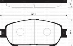 Колодки дисковые передние Toyota Camry V40 2.4 06> SANGSHIN SP1372