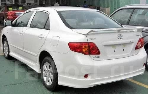 Обвес кузова аэродинамический. Toyota Corolla, NRE150, ZZE150