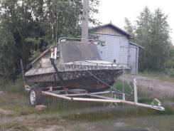 Обь-М. 2011 год год, двигатель подвесной, 30,00л.с., бензин