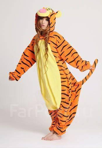 Пижама (кигуруми) ТИГР - Одежда для дома и сна во Владивостоке 34534b821fb1c
