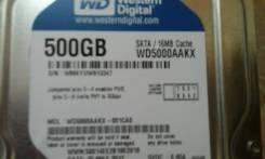 Жесткие диски. 500Гб, интерфейс SATA