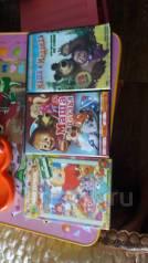 Отдам 3 DVD диска с мультиками