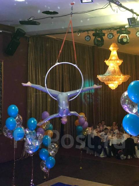 Воздушная Акробатика. Воздушные полотна и кольцо. Набор детей.