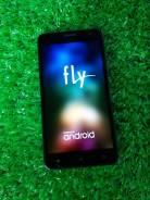 Fly FS504 Cirrus 2. Б/у, 8 Гб, Черный, 3G, Dual-SIM