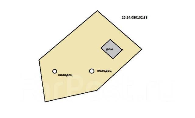 Продам Дачу в 10 мин. езды от Артема. От агентства недвижимости (посредник). План (чертёж, схема) участка