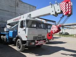 КамАЗ 55111. Продается Автокран (КС-45721) 25 т. на шасси С в Барнауле, 10 850куб. см., 25 000кг., 24,00м.