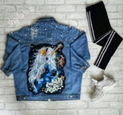 Куртки джинсовые. 40-48. Под заказ