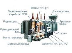 Установка и ремонт: ТП, РП, КТПН, ОРУ, ВЛ 0,4-35кВ, ЗРУ и т. п