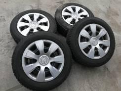 """Готовый комплект Японских Yokohama + диски R14 4-100 + Колпаки Mazda. 6.0x14"""" 4x100.00 ET42"""