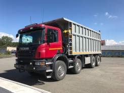 Scania P400. , 13 000куб. см., 48 000кг., 8x4