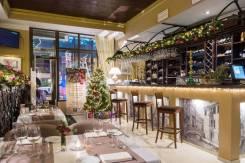 Новогоднее оформление баров, ресторанов и баз отдыха