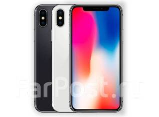 Apple iPhone X. Новый, 64 Гб, Серебристый, 3G, 4G LTE