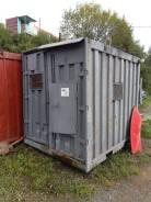 Продам 10 фут (5 тонн) контейнер с утеплением и электропроводкой. улица Трансформаторная 19а, р-н 64, 71 микрорайоны, 6кв.м. Вид снаружи
