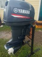 Yamaha. 40,00л.с., 2-тактный, бензиновый, нога S (381 мм), 2015 год год