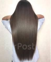 Биопротеиновое восстановление волос.