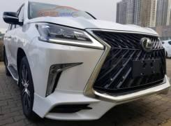 Обвес кузова аэродинамический. Lexus LX570, URJ201. Под заказ