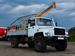 ГАЗ 3308 Садко. Бурильно-крановая машина ГАЗ-3308 2012 г/в, 4 750куб. см., 5 950кг.