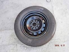 "Шина на диске с запаски Dunlop SP27 205-65R15 новая 2000г. 6.0x15"" 5x114.30 ЦО 59,0мм."