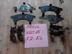Пружина прижимная тормозной колодки. Toyota Passo, KGC10, KGC15