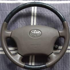 Руль. Toyota: Avalon, Land Cruiser, Aristo, Celsior, Camry Gracia, Avensis, Camry, Mark II, Land Cruiser Prado, Brevis, Avensis Verso, Alphard, Chaser...