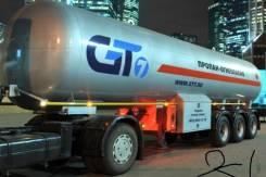 GT7 ППЦТ-36. Газовоз полуприцеп 36 м3 новый, 17 230кг. Под заказ