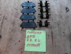 Пружина прижимная тормозной колодки. Subaru Forester, SF5, SF9, SG5 Subaru Legacy, BE5, BH5, BH9, BHC, BHE Subaru Impreza, GC8, GD9, GDA, GF8, GG9, GG...
