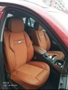 Чехлы рыжие комбинированные. Land Cruiser 200 / Lexus LX570 Новые