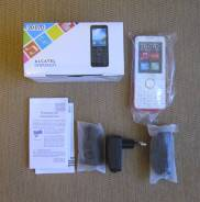 Alcatel OneTouch 2007D. Новый, до 8 Гб, Белый, Dual-SIM, Кнопочный
