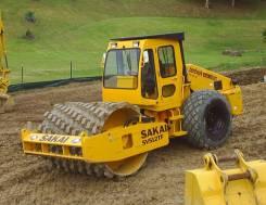 Услуги японского грунтового виброкатка Sakai 512 - Вес 13 тонн