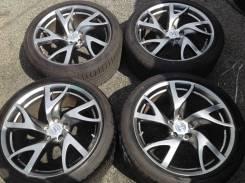 """Колёса оригинал Nissan кованые разно широкие 245/40-275/35R19 5x114.3. 9.0/10.0x19"""" 5x114.30 ET47/30"""