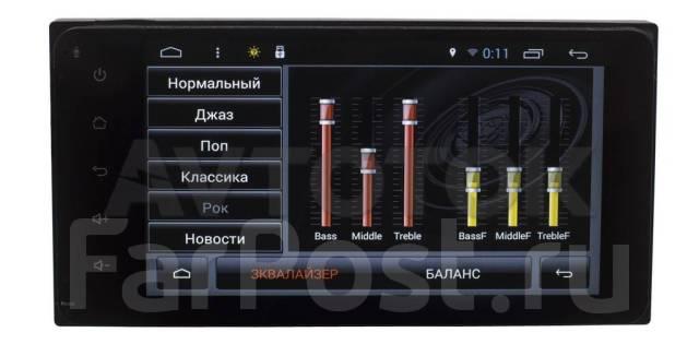 Магнитола Toyota универсальная 2DIN (200x100мм) Android 4.4.2 A862P
