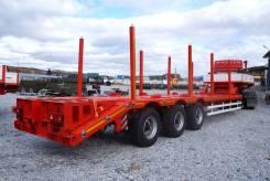 Cimc LHL9408TDP. Трал контейнеровоз с фитингами, колеса R20, 60 000кг. Под заказ