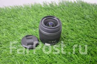 Объектив Sony DT 18-55mm (F3.5-5.6 SAM II) Zelectronic. Для Sony / Minolta, диаметр фильтра 55 мм