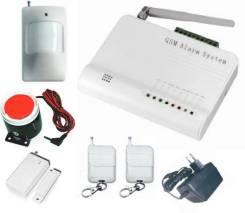 Установка сигнализации gsm на гараж дачу дом под ключ 5тр