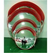 Универсальное зеркало, с козырьком d-80см Зеркало сферическое дорожное