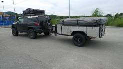 Camper. Off-Road Trailer Прицеп Кэмпер Трейлер с палаткой и шатром