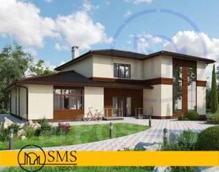 """Свежий проект дома """"M-Sky"""". 200-300 кв. м., 2 этажа, 5 комнат, комбинированный"""