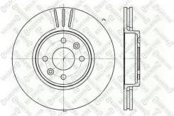 Диск тормозной передний Renault Clio/Megane/Laguna 1.6-2.0/1.9D 96> STELLOX 6020-3919V-SX