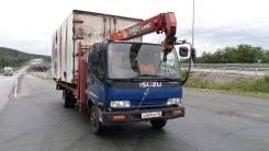 Isuzu Forward. Подается грузовик сЭвакуаторной стрелой полная пошлина, 7 200куб. см., 5 000кг., 4x2