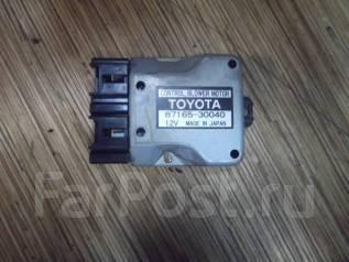 Регулятор отопителя. Toyota Crown, JZS151