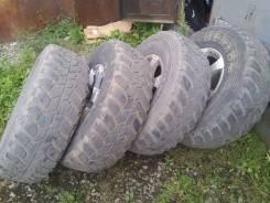Dunlop Grandtrek MT2. Грязь MT, 2012 год, 80%, 4 шт
