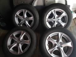 """Комплект колес на литых дисках 205/65R15 лето. 6.5x15"""" 5x100.00 ET38 ЦО 55,0мм."""