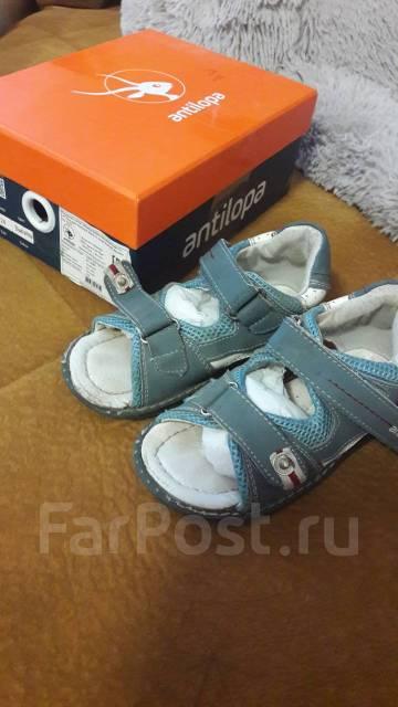 5caa3dec1 Сандали для мальчика Антилопа 24 размер - Детская обувь во Владивостоке