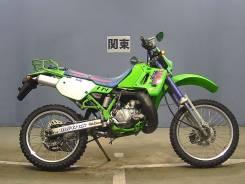Kawasaki KDX 200SR. 200куб. см., исправен, птс, без пробега